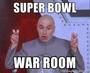 Dr. Evil Air Quotes - Super Bowl War Room
