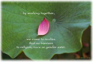 Quotes about religion race gender working together quotes