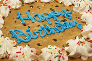 cake on campus delivery only a yummy 12 chocolate chip cookie cake ...