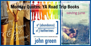 Monday Quotes: YA Road Trip Books