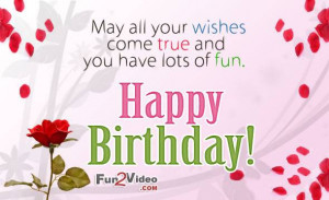 Birthday wishes and Birthday Quotes to say happy birthday to your ...