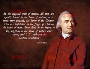 samuel adams religion