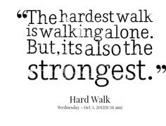 ... people who think I'm a loner that I'm stronger then them!!!!! More