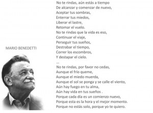 Mario Benedetti - No te rindas: Other, Quotes, In Castilian, Escritor ...