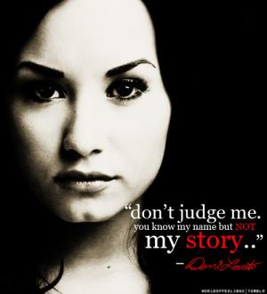 Nesúď ma. Poznáš moje meno, nie môj príbeh.