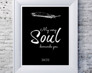 Quote Black And White Typography Inspiration Etsy Print Interior Type