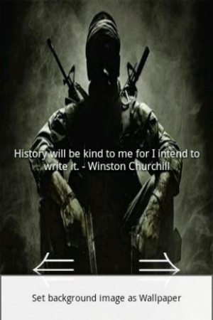 View bigger - Cod Quotes for Android screenshot