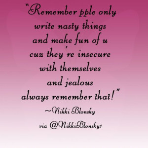 Nikki Blonsky quote
