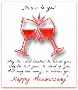 Anniversary Toast, Send Anniversaries, Anniversaries Messages, Happy ...