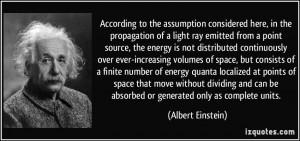 Assumption Quotes According to the assumption