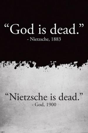 Nietzsche Quotes About God Is Dead ~ God is Dead - Nietzsche ...
