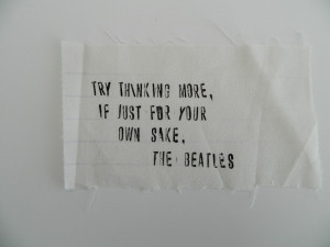 fabric letter stamping - favorite quote applique {tutorial}