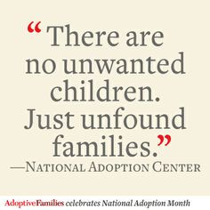 nationaladoptionmonth read how one family decided that adopting ...