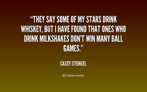 Image search: casey stengel biography