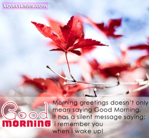 good morning sweet quotes good morning quotes sms good morning images ...