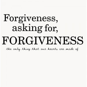how to show forgiveness to others