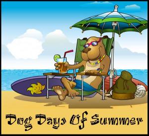Dog Days Of Summer Clip Art - Dixie Allan