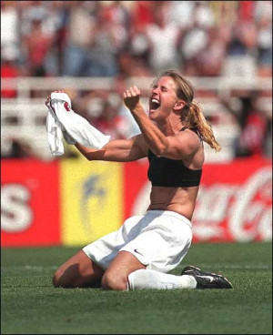 Apologise, Brandi chastain soccer ball agree, your