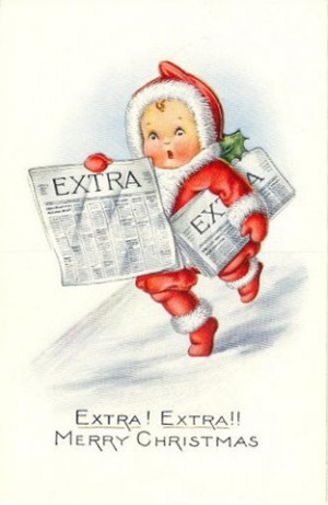Click a vintage Christmas card below to view and download a larger ...