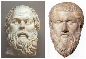 Above - Greek Philosophers whose ideas are still significant today