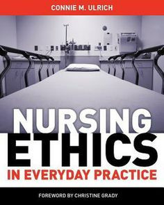 ... nursing ethics or care ethics. Therefore, nurses should equalize the