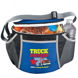 Truck Drivers SAFETY Is Always On Board Daytona Insulated Lunch Bag