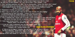 Top 10 Thierry Henry Quotes www.fb.com/afc.fans