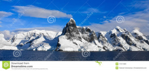Beautiful Snow Capped Mountains