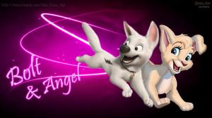 Disney-Angel-and-Bolt-cute-love-wallpaper-HD-disneys-bolt-32492652 ...