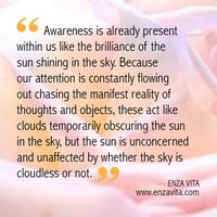 spiritual enlightenment photo: Read the Quote on Awareness by ...