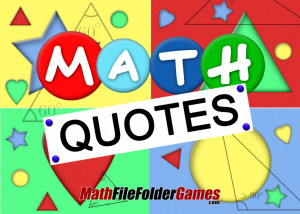 Math Quotes For Students Inspirational Math Quotes