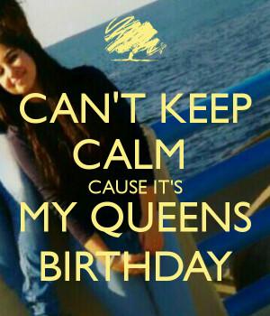 Queens Birthday