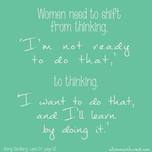 Sheryl Sandberg Lean In Quote 2