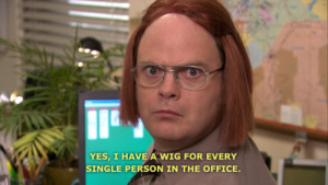Wig for every person in the office. ( killthehydra.com )