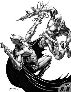 Deadpool, Batman, VS.