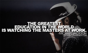 "Inspirational Quotes from the Late ""King of Pop"" Michael Jackson"