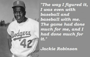 Jackie robinson quotes 5