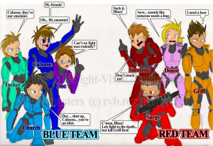 Red, vs., Blue, fanart, griff, caboose, church, simmons, sarge, jpeg ...