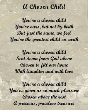 My Mommy Poems Adoption Poem For Adopted. Inspirational Funeral Quotes ...