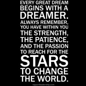 Every great dream quote from Facebook