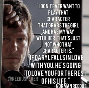 Norman Reedus, Daryl will always be my fave