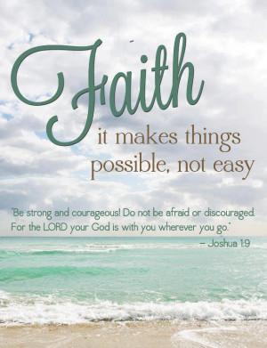 30+ Beautiful Faith Quotes