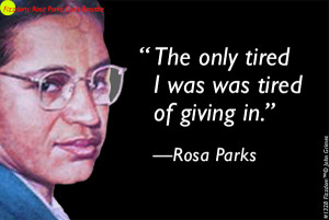 Rosa Parks Can't Breathe