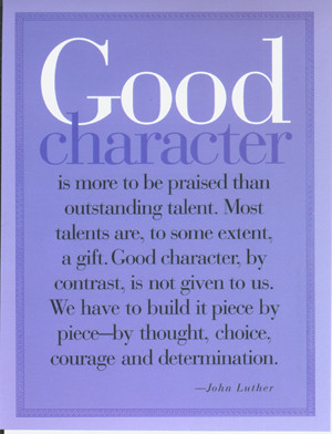 Good Character = Good Citizen?