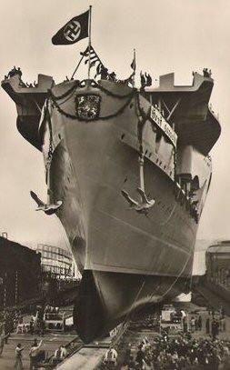 of graf zeppelin graf zeppelin deutsche werke shipyard kiel 1940