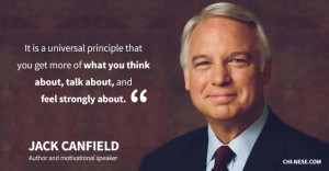Jack Canfield on Law of Attraction and Money