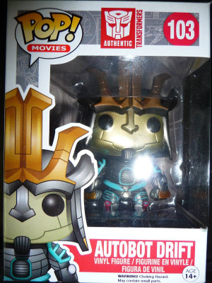 transformers 4 optimus prime bumblebee y drift de funko pop