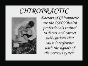Chiropractic Quotes, Epigrams and Sayings Wall Charts