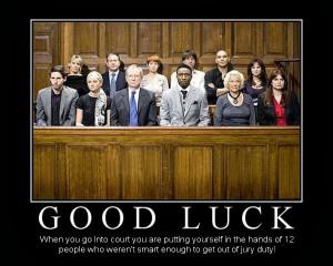 Jury Duty Funny Jury duty - russian roulette