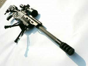 Tactical 338 Lapua Sniper Rifle